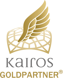 Kairos Goldpartner Logo